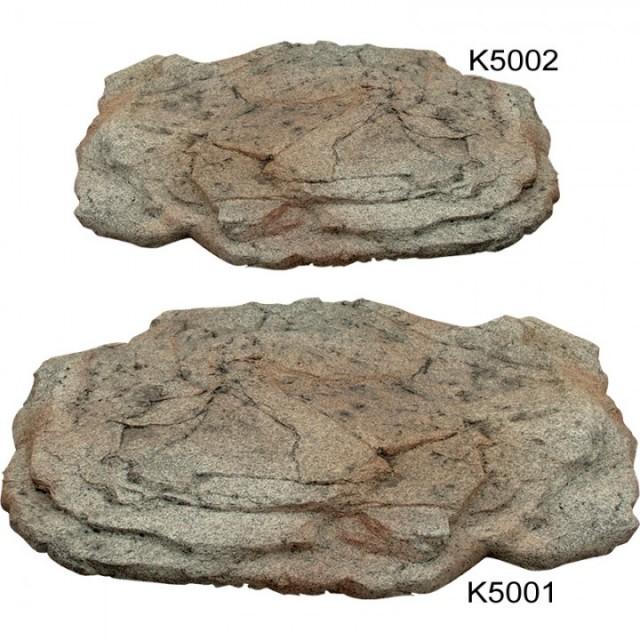 Stone covers savio for Decorative fish pond covers