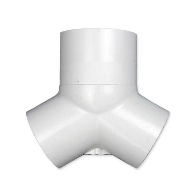 Wye fittings plastic