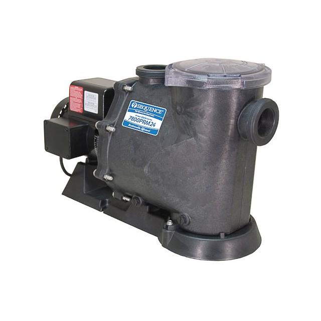 Self primer series sequence pumps for Install external pond pump